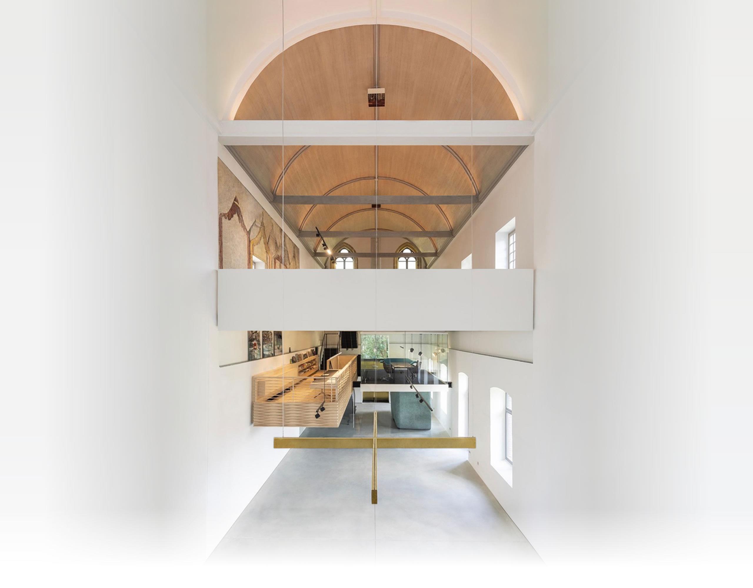 Andrieskapel, view inside