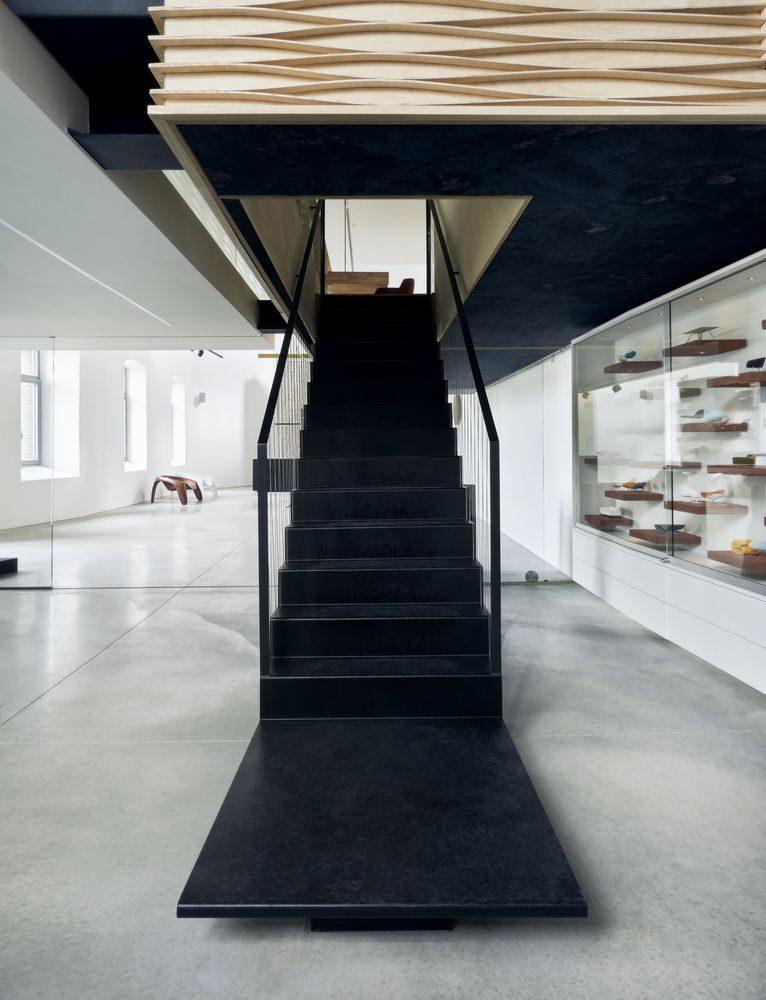 Andrieskapel view upstairs