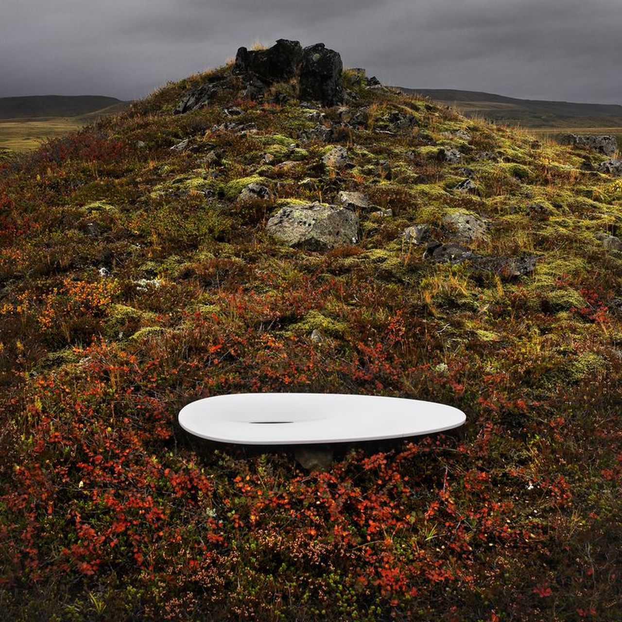 First washbasin in Iceland