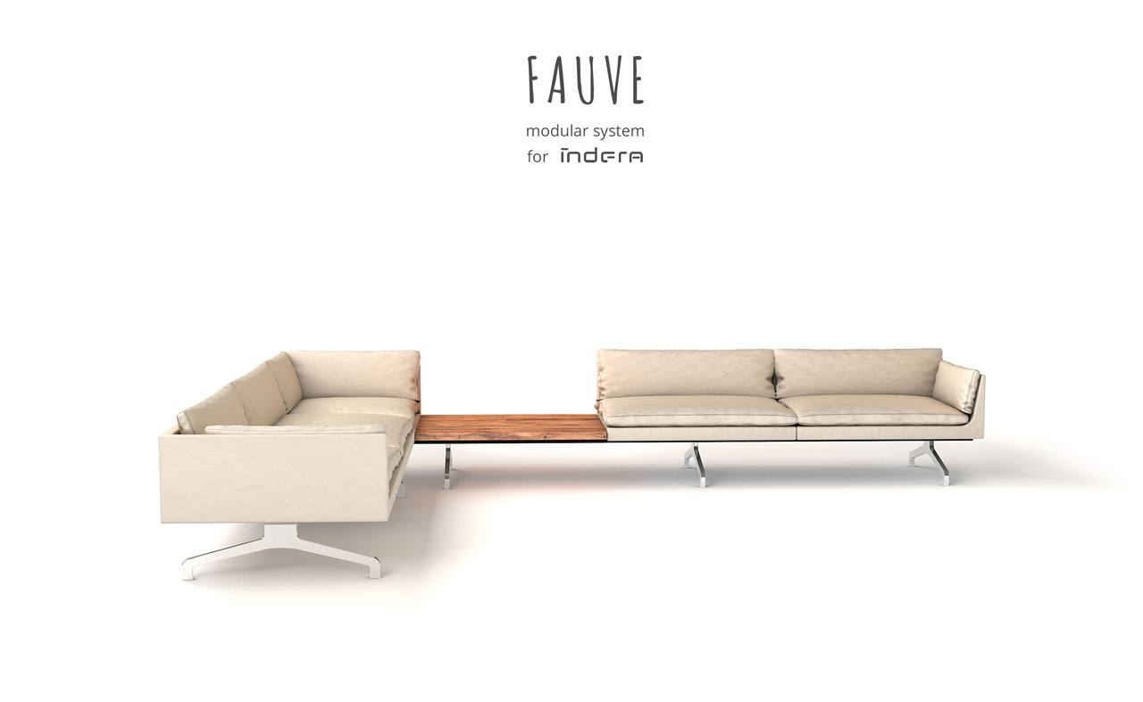 Fauve sofa concept
