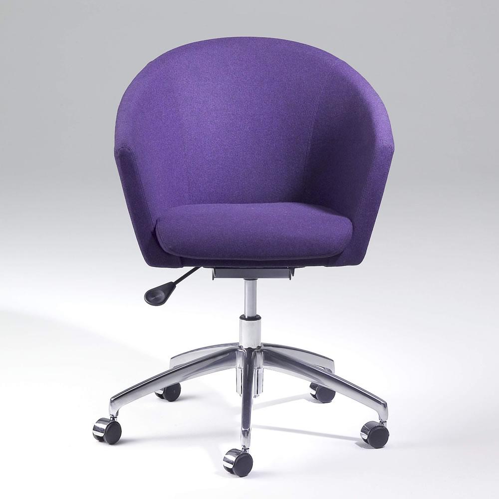 Megan purple with wheels