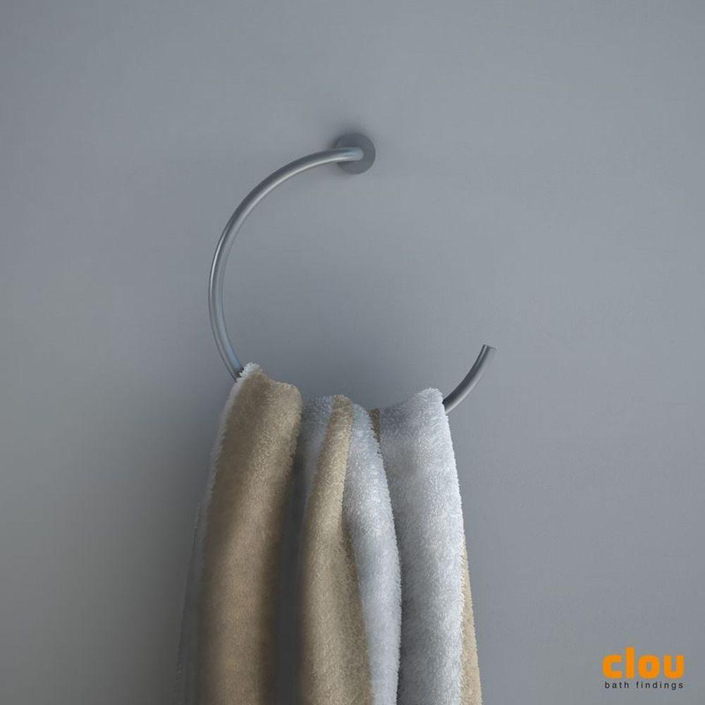 Slim towel hook